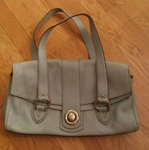 Marc Jacobs Blue Leather Satchel